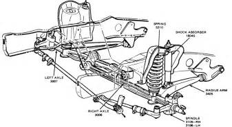 ford f 150 front suspension parts diagram ford free