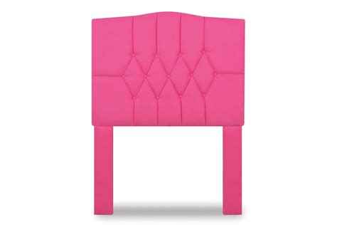 pink tufted headboard twin twin tufted headboard in passion pink by kangaroo trading co