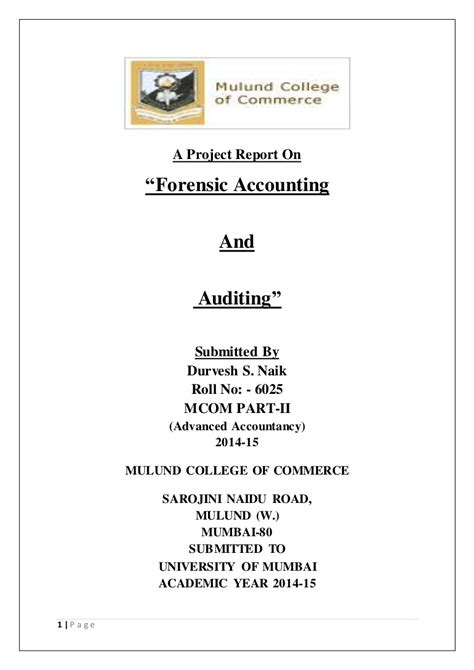 forensic audit report sle forensic accounting report template 28 images forensic