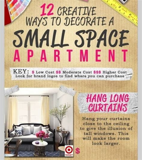 7 Tips To Make An Apartment Look Bigger by You Can Make Your Small Apartment Look Bigger Musely