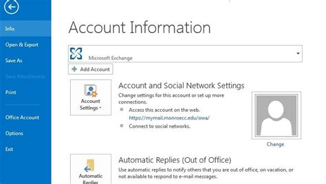 Mcc Help Desk by Setting Up Microsoft Outlook Community College