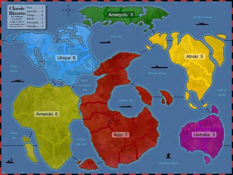 classic maps classic bizarro map