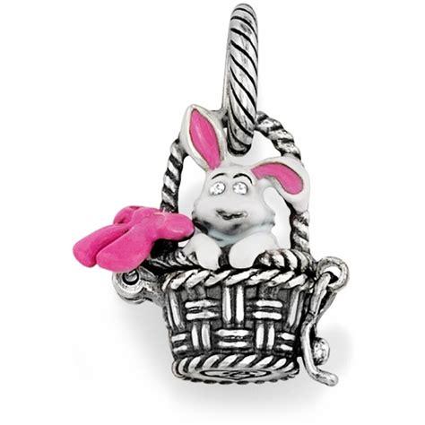 bunny basket charm charms