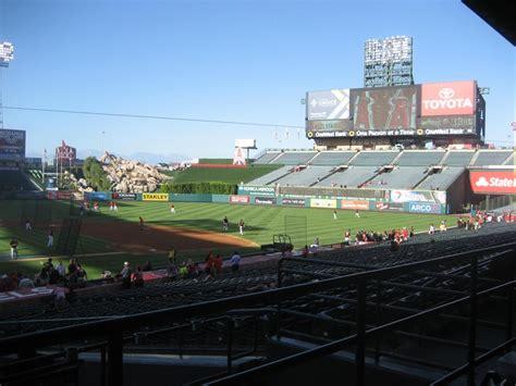section 16 b angel stadium section 221 rateyourseats com