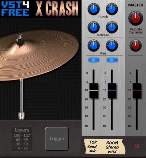 drum pattern generator vst free crash cymbal au vst plug in for mac and win