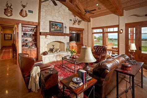 preferred ranch style interior design