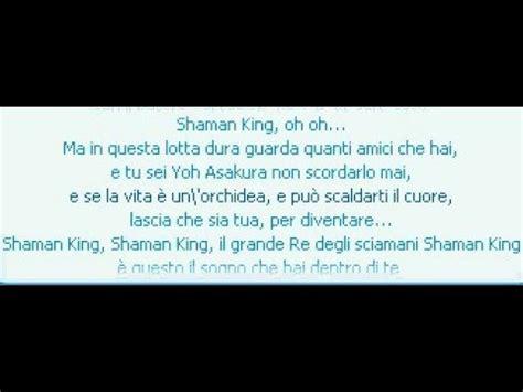 shaman king sigla testo shaman king sigla italiana funnycat tv