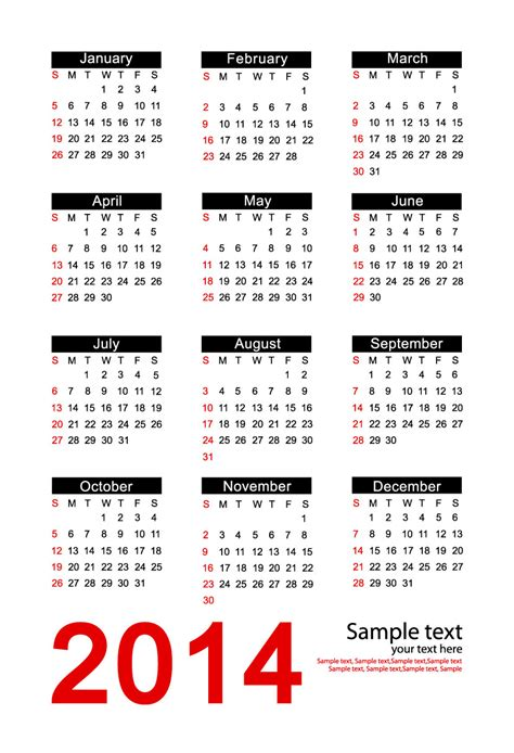 2014 free calendar template calendar 2014 new calendar template site