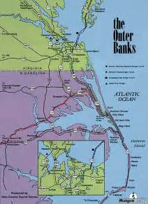 map of the outer banks carolina outer banks cabana vacation rental directions