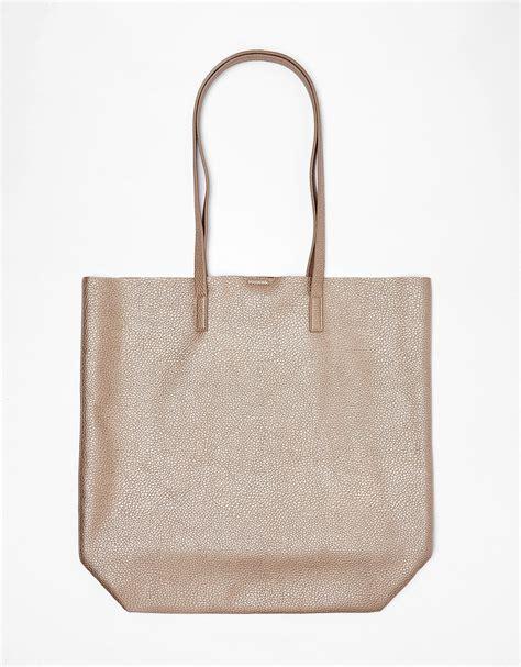 Bershka Textured Mini Tote Bag s bags backpacks bershka