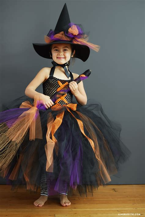 kids diy witch costume lia griffith