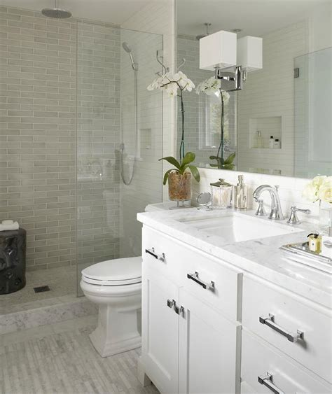 gray white traditional bathroom interior design ideas white carrara marble countertops contemporary bathroom