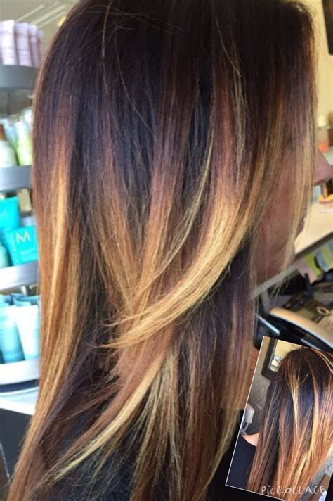 what are good colors to use for highlights and low lights for redhair dark and light blonde balayage highlights with dark root