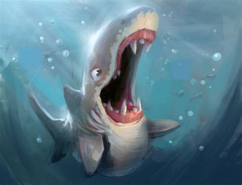 baby shark unlimited baby shark teeth by marcobucci on deviantart