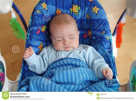 babies sleeping in swings sleeping baby royalty free stock photography image 28937707
