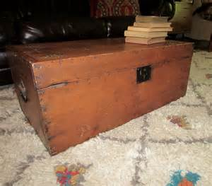 Vintage Trunk Coffee Table Antique Chest Trunk Coffee Table Haute Juice