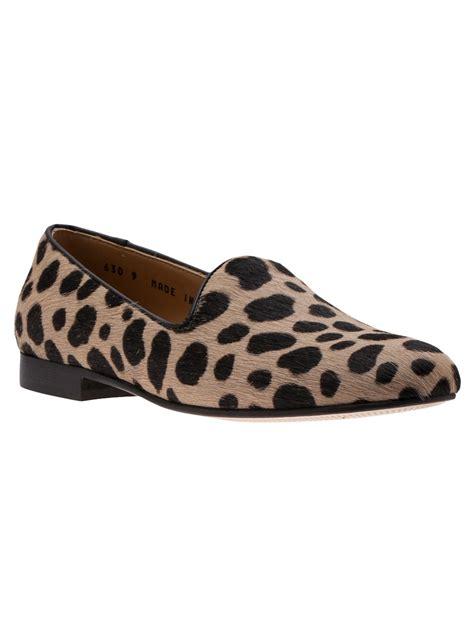 toro slippers sale toro cheetah print slipper in animal brown lyst