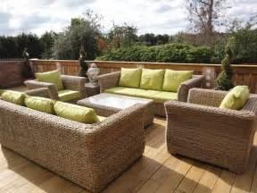 salon de jardin garden am 233 nager sa terrasse avec du mobilier de jardin en r 233 sine tress 233 e