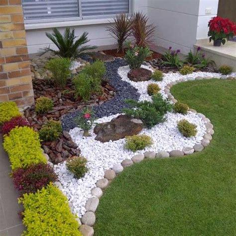 decorazioni giardino decorare con i sassolini in giardino 20 idee creative a