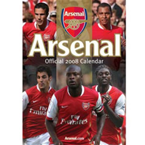 arsenal calendar arsenal football club arsenal fc calendars calendar toy