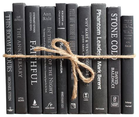 booth williams decorative books modern black silver colorpak books houzz