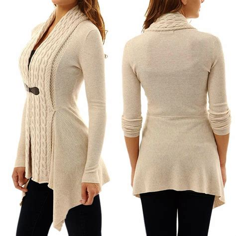 Jaket Sweater Cardigant cardigan sweater sleeve knitted cardigan