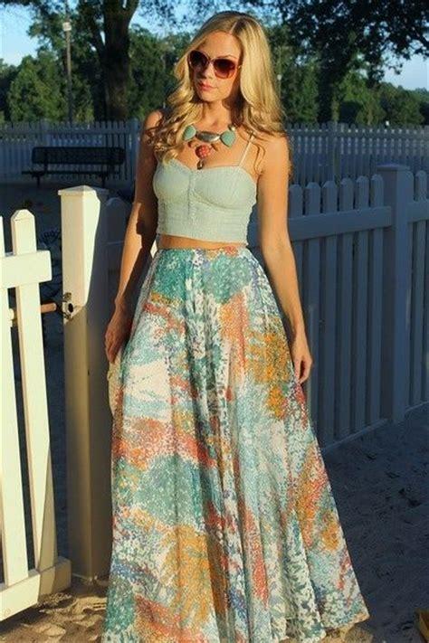 crop top maxi skirt skirt dress