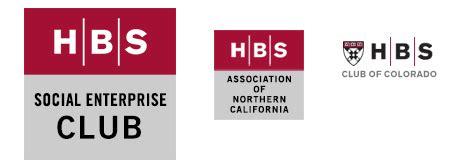Hbs Mba Alumni Careers by Alumni Clubs Identity Guidelines Harvard Business School