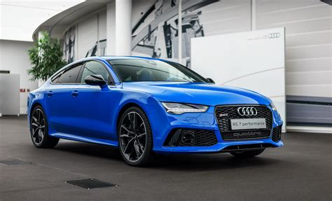 Audi Rs7 Interior by Voodoo Blue Audi Rs7 Has An Interior That Belongs In A