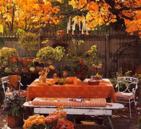 Garden Decoration Leaves by Fall Garden Other Nature Background Wallpapers
