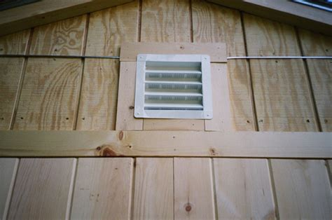 Shed Roof Ventilation by Turn Your Shed Into A Home Office Bench Design Plans