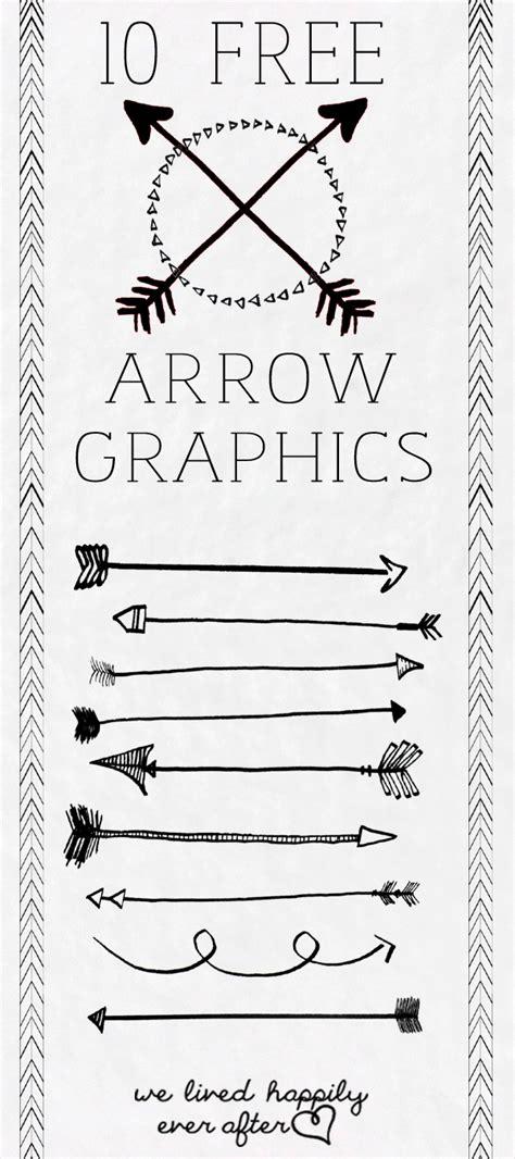 free doodle arrow font my favorite free arrow graphics