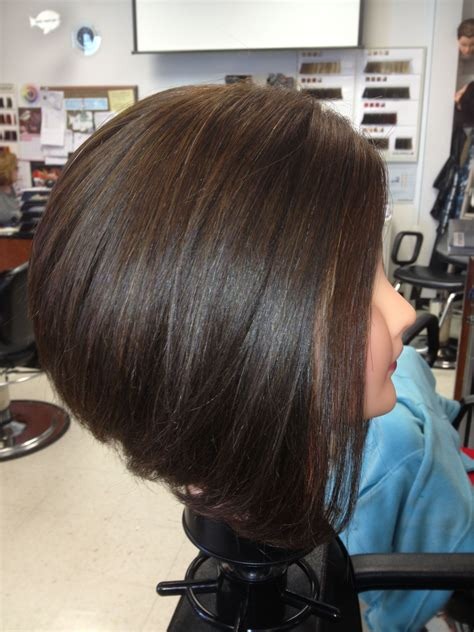 inverted bob medium length shorthair cute love my job