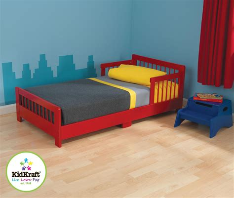 red toddler bed kidkraft slatted toddler bed red baby toddler