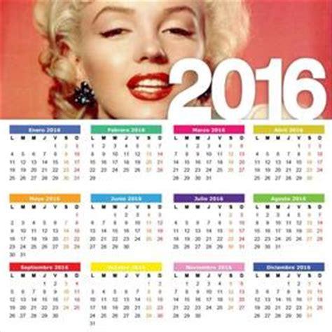 calendario 2016 por meses para editar llamativo calendario del a 241 o 2016 para editar subiendo tu
