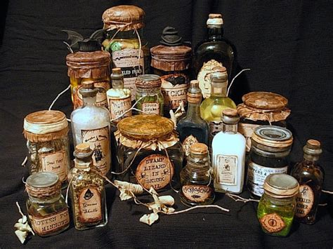 Seeing things halloween apothecary jars beeswax apothecary jar labels