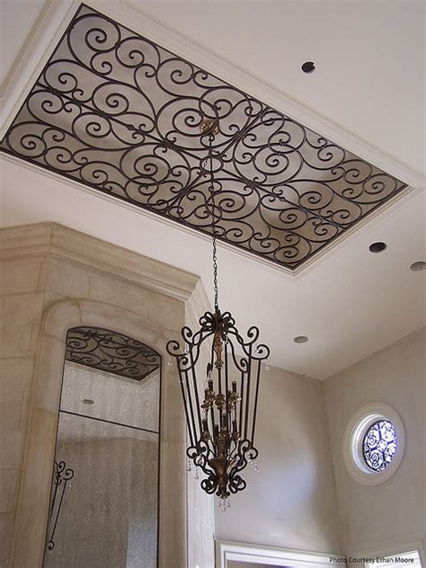 Wrought Iron Ceiling Medallions by I It Different Twist To Ceiling Medallions Home