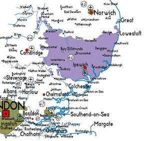 Suffolk England Map by Map Of Beccles Suffolk Images