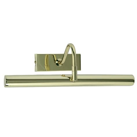 in led picture light pl led pb led picture light in polished brass