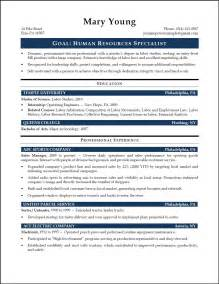 hr specialist sample resume resumepower