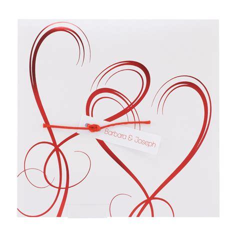 Hochzeitseinladung Holzherz by Hochzeitskarten Einladungskarten Mit Herzen Alle Karten De