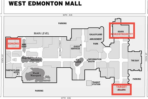 nordstrom floor plan floorplan west edmonton mall red editing retail insider