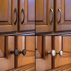 Where To Place Kitchen Cabinet Knobs Tip Thursday One Way To Change The Look Of Your Kitchen The Organizer Universe