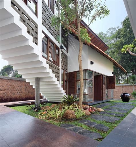 design school in indonesia modern indonesian houses a beautiful balance modern