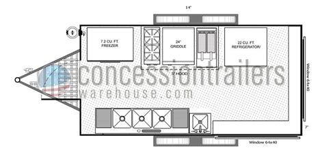 concession trailer floor plans food truck food truck floor plan food truck design right