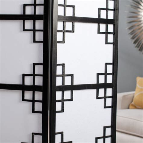 Lattice Room Divider Black Omei Lattice 3 Panel Screen Room Divider Reproduction Antiques