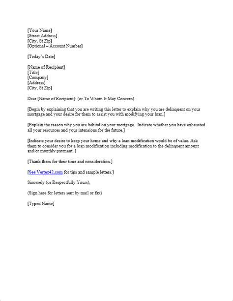 Free Hardship Letter Template   Sample Mortgage Hardship