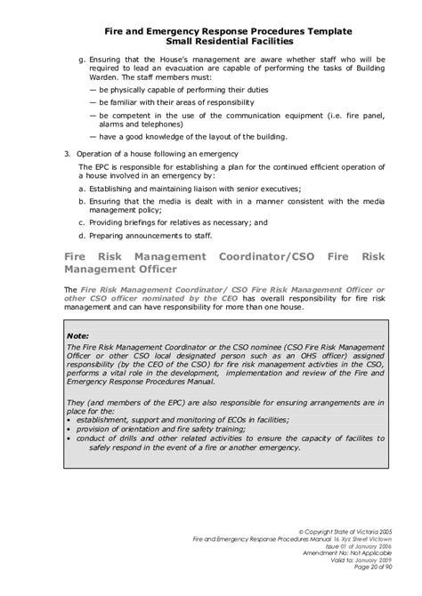 appointment letter evacuation warden fireemergegencyman 2