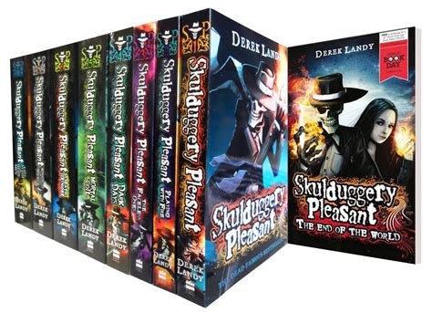 last stand the complete box set books skulduggery pleasant derek landy 9 books set collection