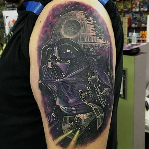 death star tattoo best 25 ideas only on